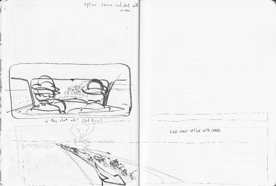 Suite Française first rough storyboard 11