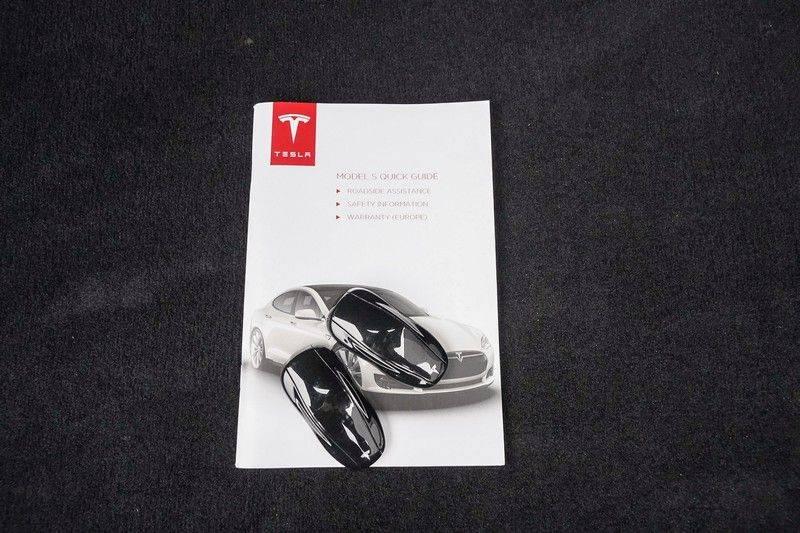 Tesla Model S 85D Performance 700pk Free Charging Pano Leer afbeelding 7