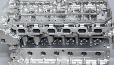 A car's engine
