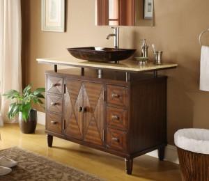 Verdana Vessel Sink Bathroom Vanity