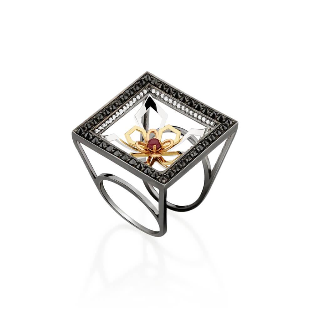 Portal Lotus Ring