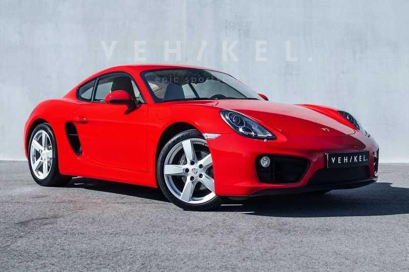 Porsche Cayman 2.7 // Handgeschakeld // Iconic Guards Red afbeelding 8