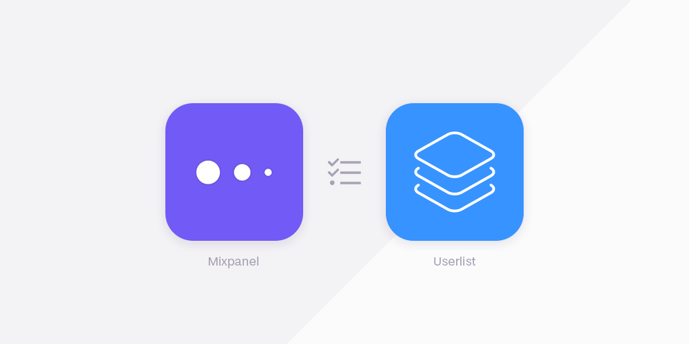 Mixpanel vs Userlist