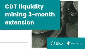 Blox extends its CDT liquidity mining campaign for 3 months
