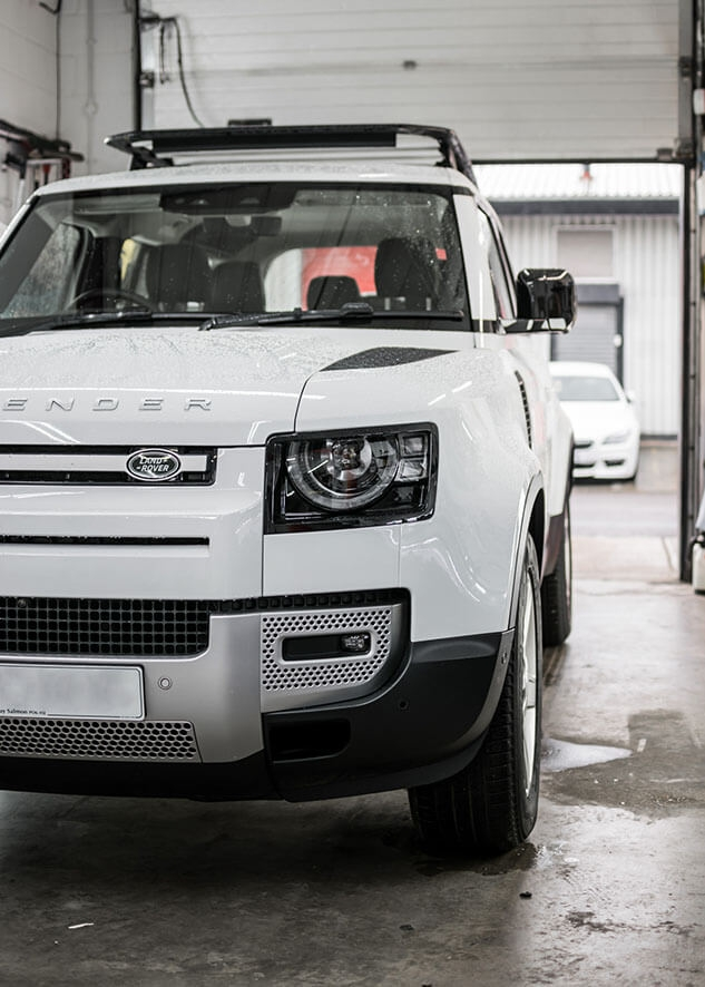 Land Rover Defender Window Tinting