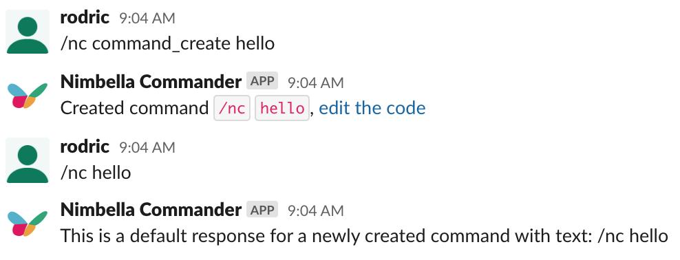 build serverless Slack commands