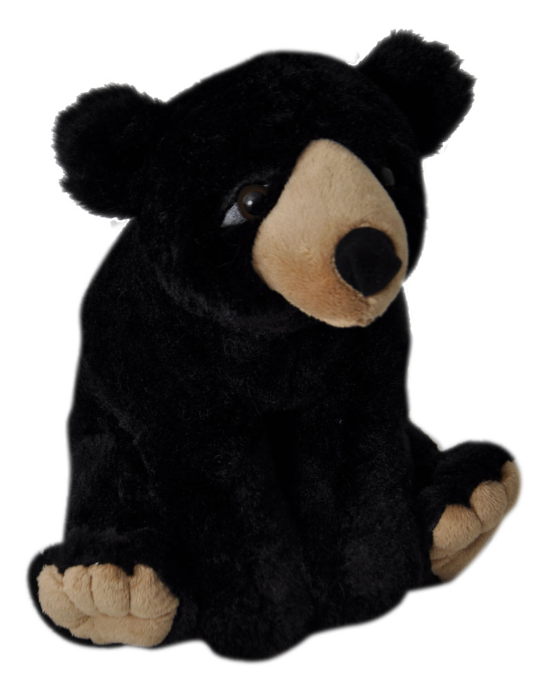 "The Petting Zoo: 12"" Wild Onez Black Bear"