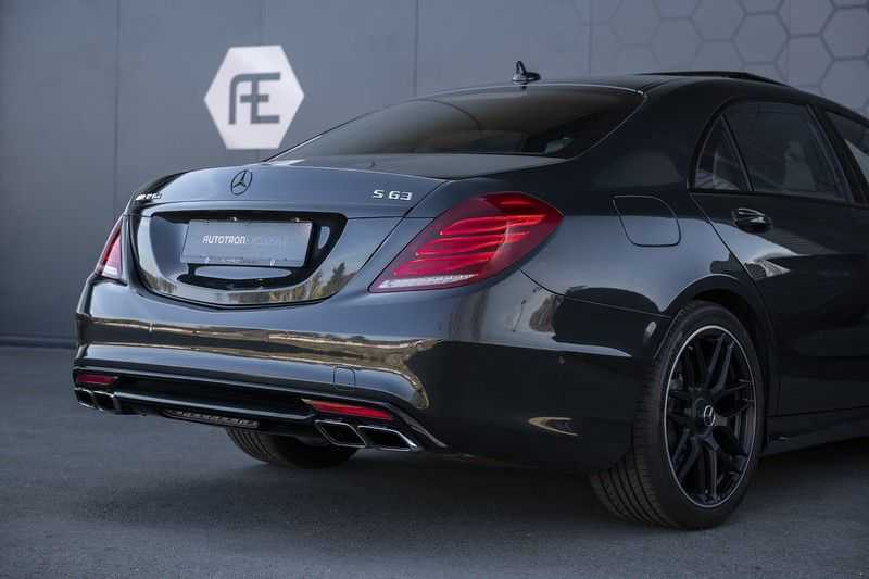 Mercedes-Benz S63 AMG Lang 4-Matic BTW-auto + Magnetite Black + Panoramadak S 63 DISTRONIC Plus + MASSAGE afbeelding 4