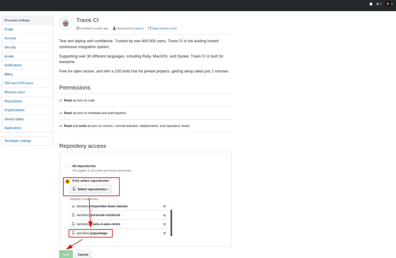 travis-ci-github-authorization