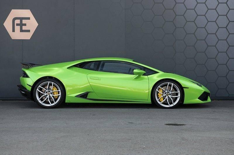 Lamborghini Huracan 5.2 V10 LP610-4 Blue Eye + Carbon Spoiler + LIFTING + Achteruitrijcamera afbeelding 8