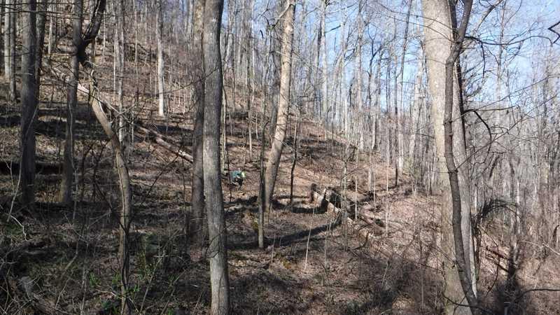 Hiking to Lance Creek