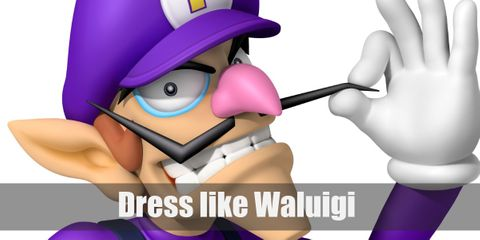 Dress Like Waluigi (Super Mario) Costume