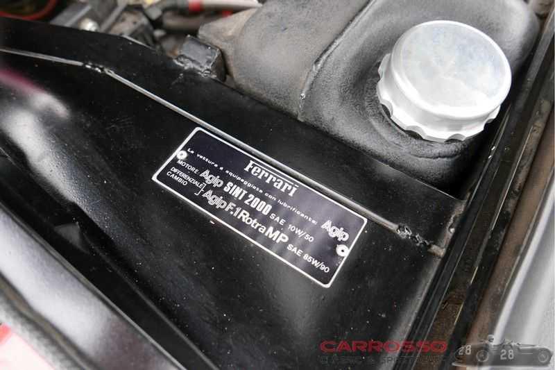 Ferrari 308 GTB Carburetor / Dry-sump afbeelding 14
