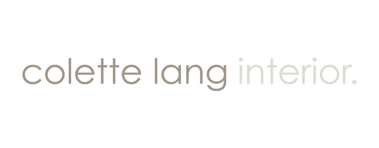 Logo Design Colette Lang Interior