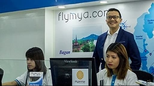 Myanmar: Flying high with 20/20 vision