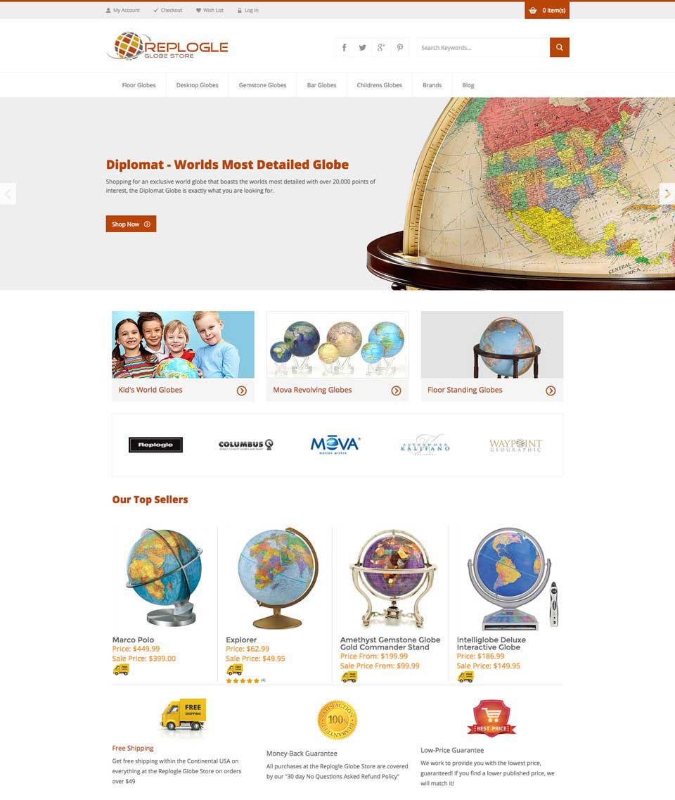 Replogle Globe Store
