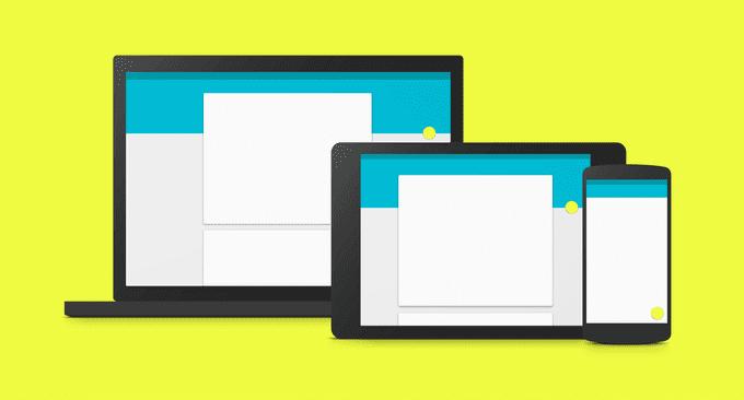 สร้างโปรเจ็ค Android ให้รับรอง Material Design