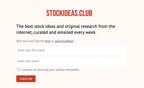 stock ideas