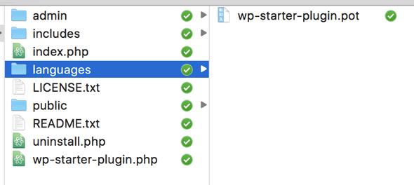 WordPress Plugin Boilerplate Languages Folder