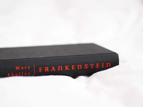 libro frankestein lomo