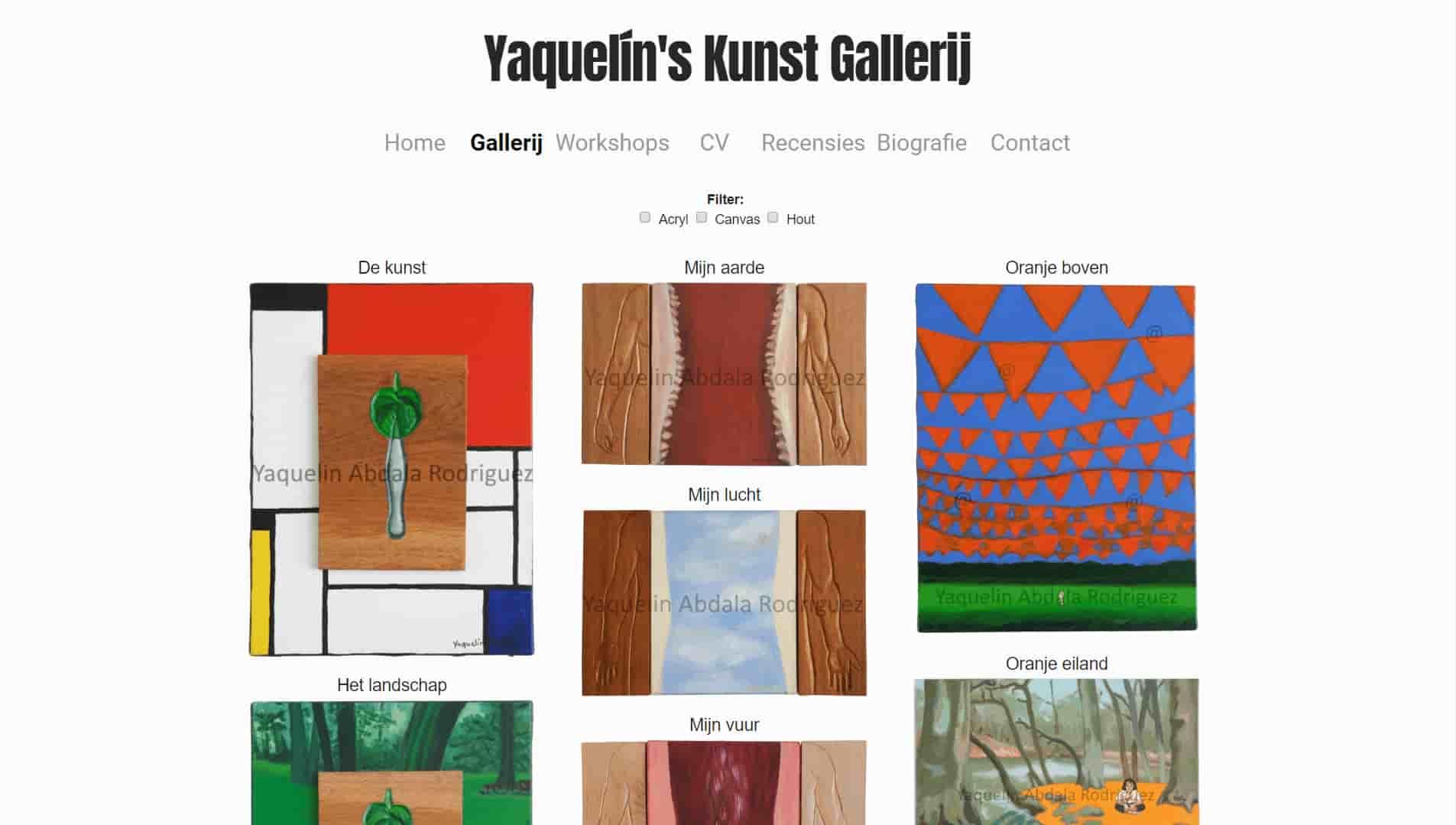 Yaquelín's Kunst Galerij