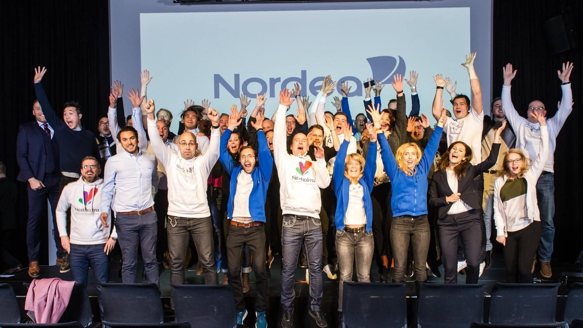 Startups från hela världen kommer till Nordea