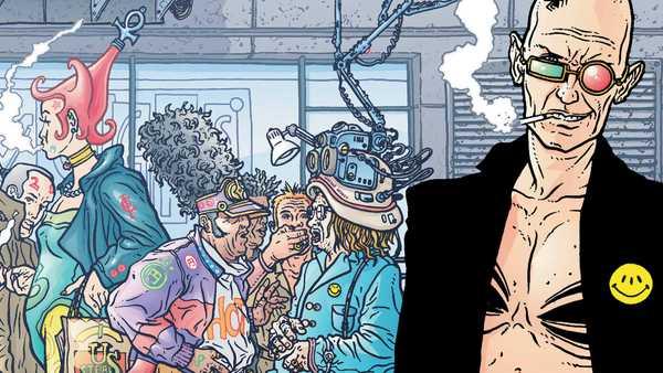 Spider Jerusalém aparece com Mutantes em Transmetropolitan da Vertigo
