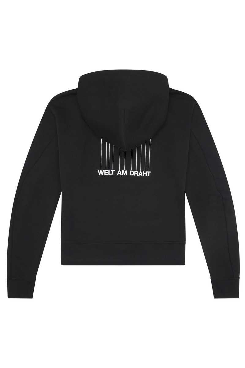 Hoodie Dag Black AW21 back