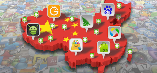Top 10 Android app stores in China in Q1 2018