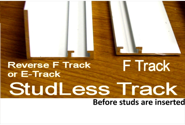 F-Track comes in different angles and shapes