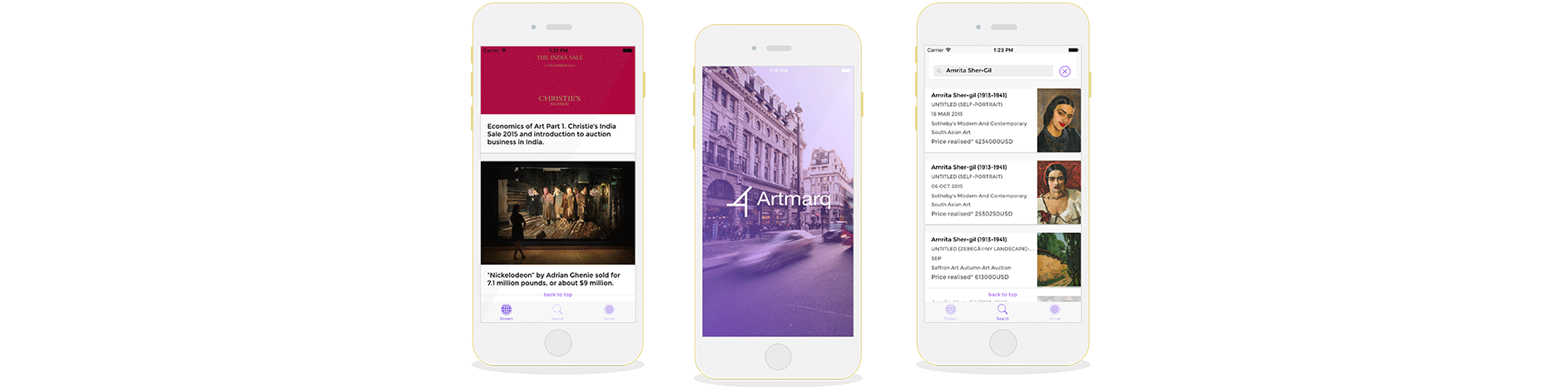 Artmarq is now on iPhone App Store