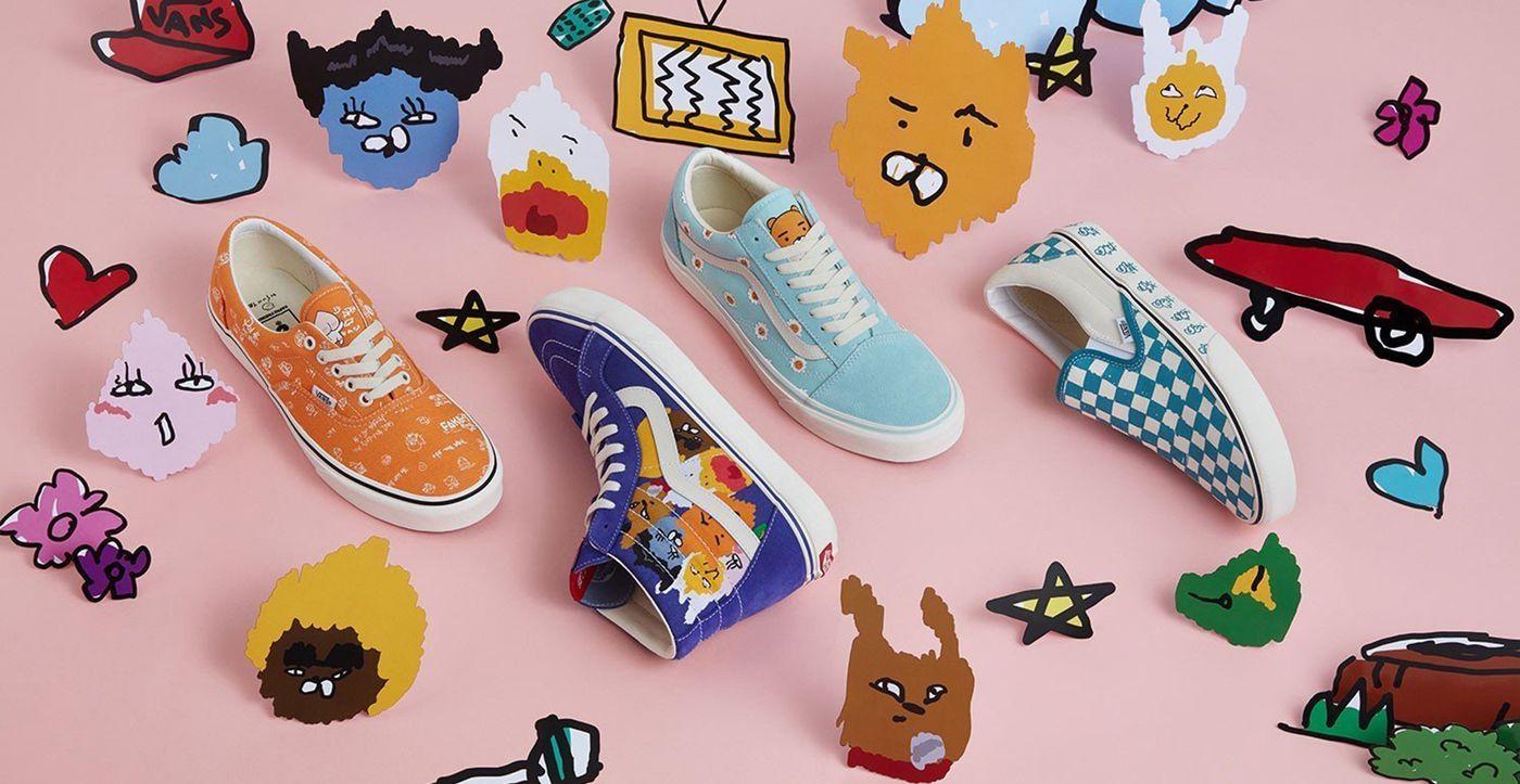Kakao Friends x Vans