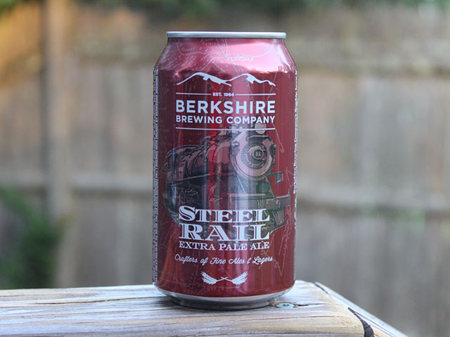Steel Rail Ale, an EPA brewed by Berkshire Brewing Company