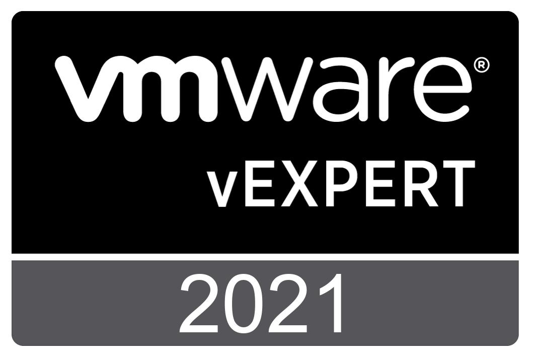 VMware vExpert badge