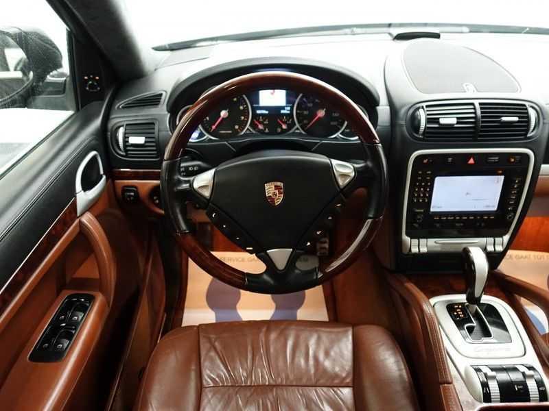 Porsche Cayenne 4.8 Turbo 500pk Autom, Schuifdak, Leer, Bose, Xenon, Memory, Full! afbeelding 17