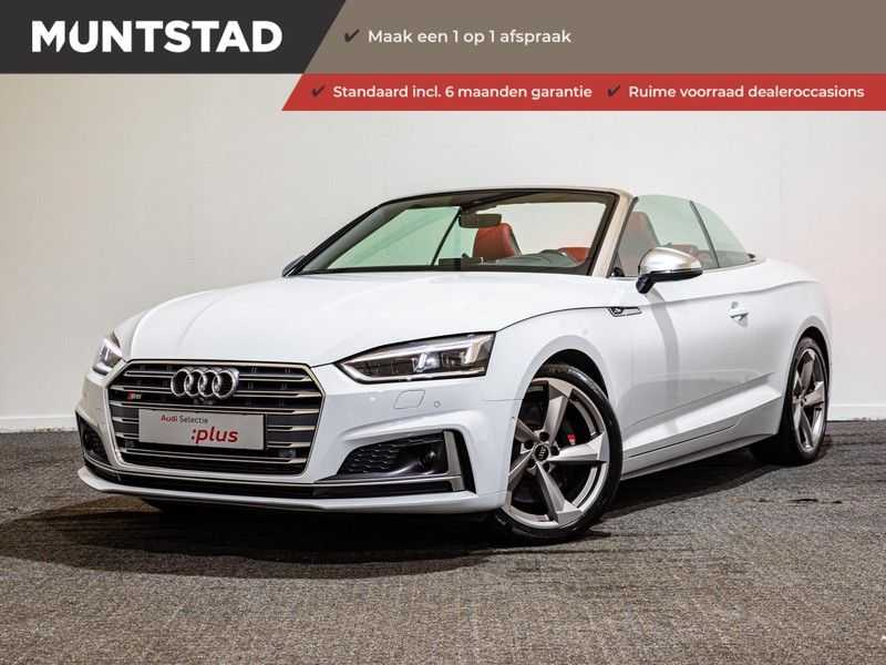 Audi A5 Cabriolet 3.0 TFSI S5 quattro Pro Line Plus 354PK | 2 x S-Line | Adapt.Cruise | Massage Stoelen | 360 Camera |