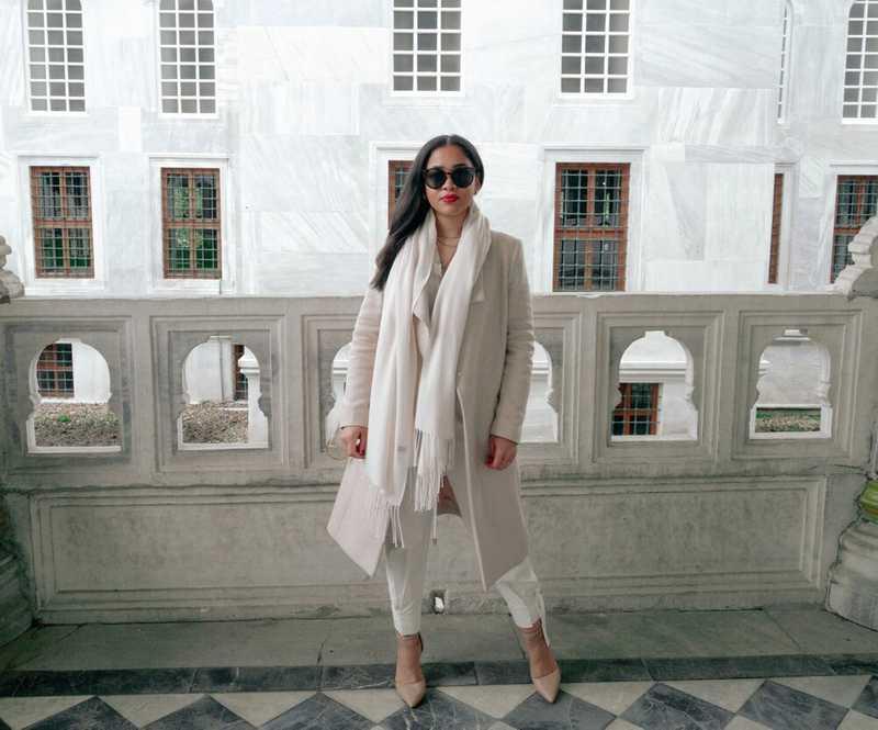 Aylin Marie at Koptapi Palace in Istanbul, Turkey
