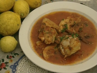 Greek-Moor Chicken With Lemon