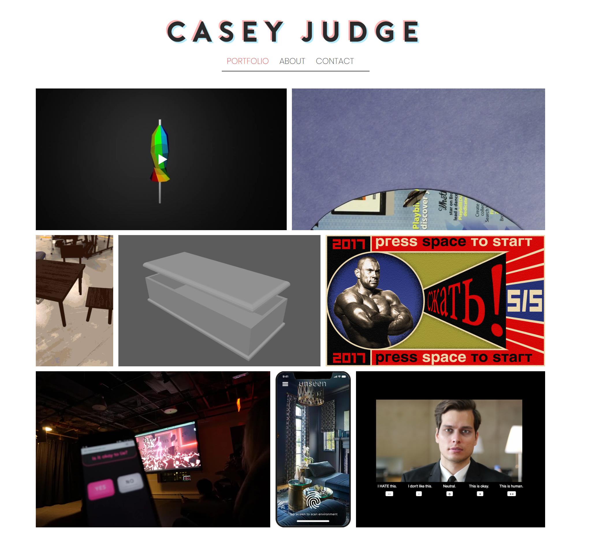 Screenshot of acaciajudge.com