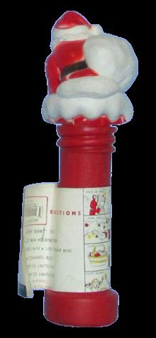 Santa in Chimney Flashlight photo