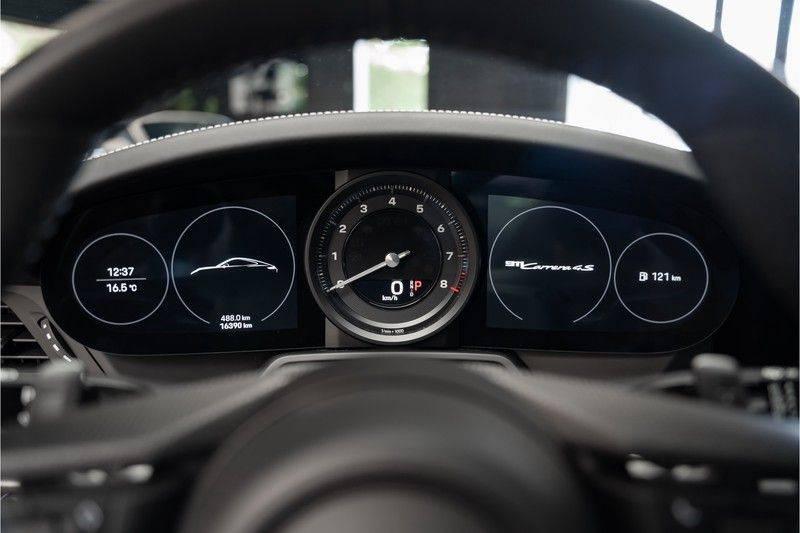 Porsche 911 992 4S Coupe Sport Design Pakket PDCC Ventilatie Pano ACC Surround Camera Achteras besturing 992 Carrera 4 S Vol afbeelding 21