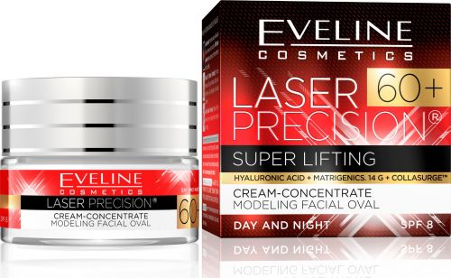 EVELINE Laser Precision 60+ Super Lifting ránctalanító krém-koncentrátum arcra 50 ml