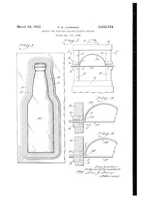 L.A. Goodman Method for Bonding Hollow Plastic Bodies Patent #2632724.pdf preview
