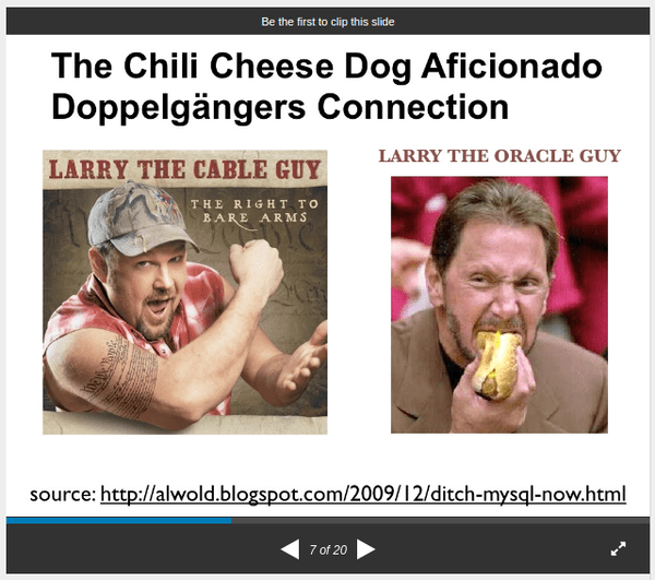 From my 2009 Ignight Raleigh Presentation: The Redneck's Guide to Silicon Valley