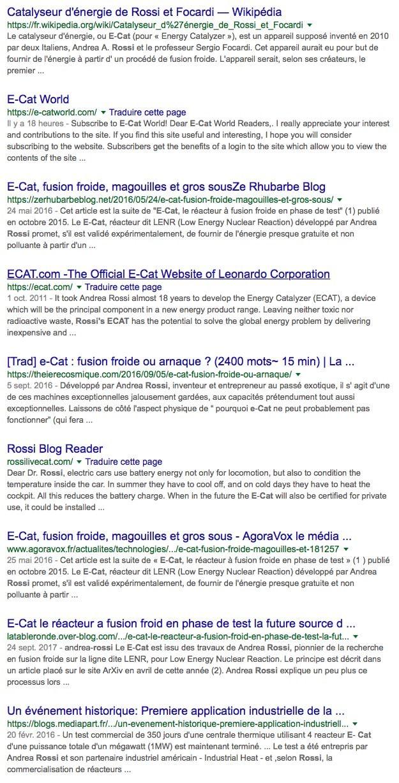 e-cat Google.fr
