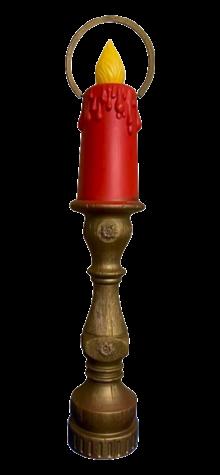 Large Halo Mediterranean Candle photo