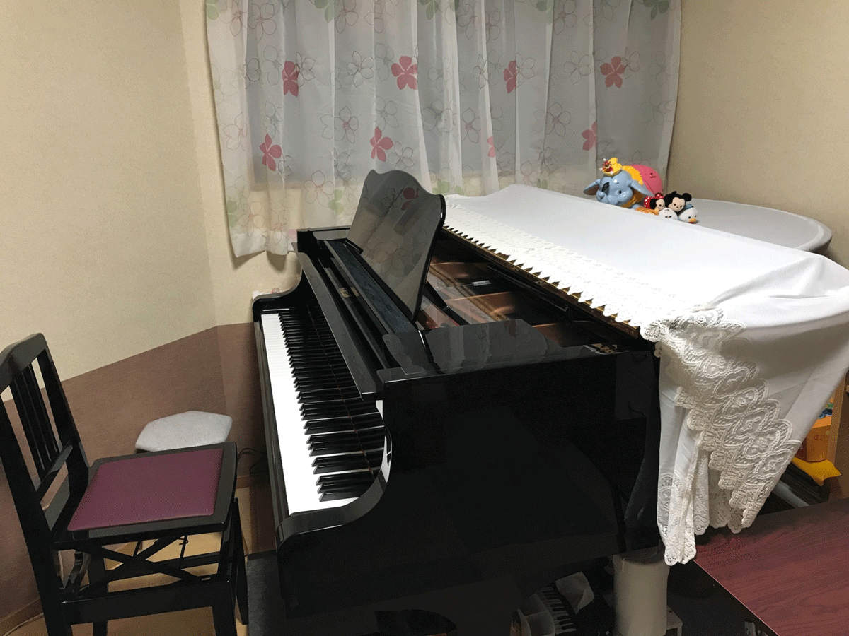 YAMAHAグランドピアノ