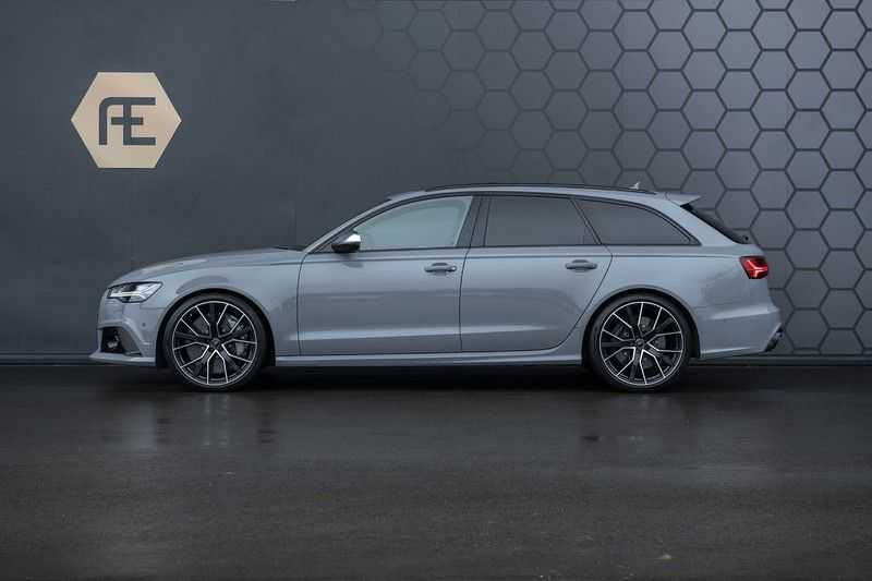 Audi RS6 Performance Avant 4.0 TFSI Quattro Pro Line Plus + BTW + KERAMISCHE REMMEN + MILLTEK + Garantie t/m 08-2022 afbeelding 2