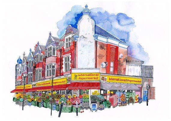 International Supermarket, Walthamstow