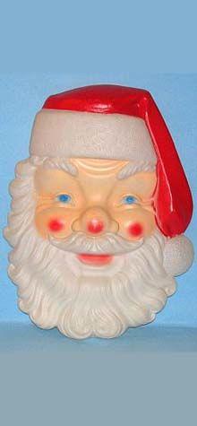 Giant Santa Face photo
